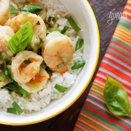 Thai-Green-Coconut-Curry-Shrimp-with-Basil