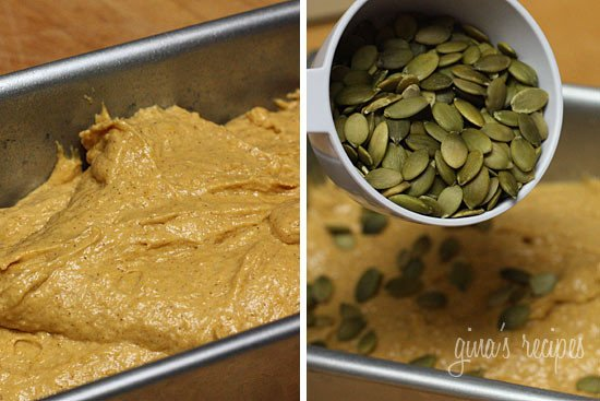 Low Fat Pumpkin Bread With Pepitas Recipes — Dishmaps