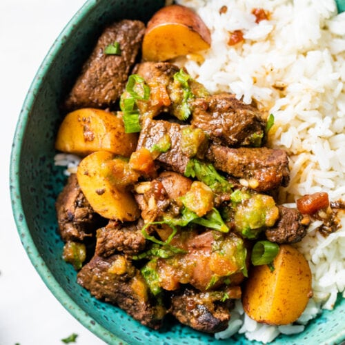 Carne Guisada Latin Beef Stew