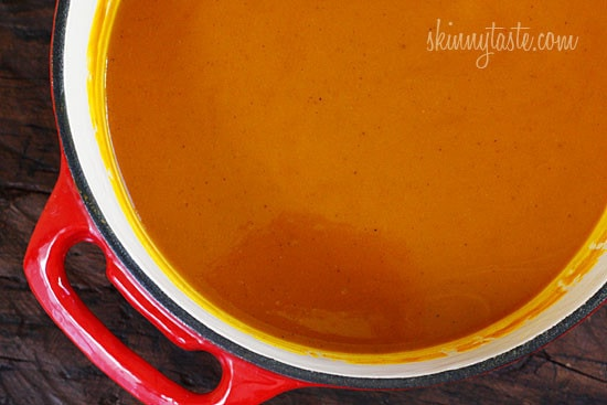 Roasted Red Kuri Coconut Curry Soup | Skinnytaste
