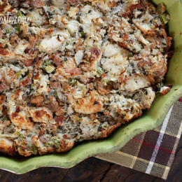 Turkey-Sausage-and-Herb-Stuffing