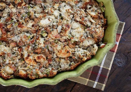 Chicken Sausage And Herb Stuffing | Skinnytaste