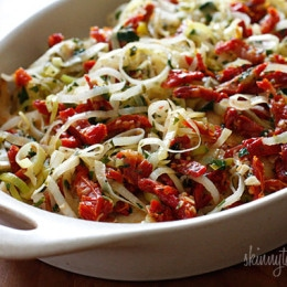 Chicken-with-Leeks2C-Sun-Dried-Tomatoes-in-White-Wine-Sauce
