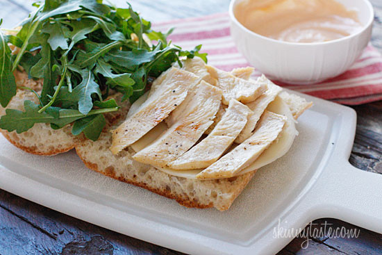 chicken with spicy yuzu mayonnaise chicken panini with arugula