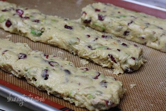Pistachio Cranberry Biscotti | Skinnytaste