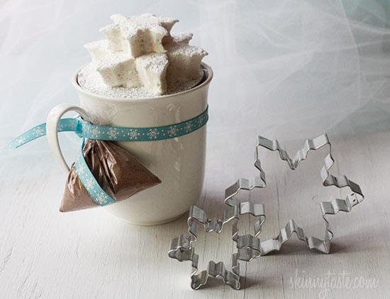 Homemade Vanilla Bean Agave Marshmallows   Skinnytaste