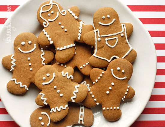 Lightened Up Gingerbread Cookies Skinnytaste