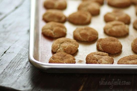 Skinny Whole Wheat Snickerdoodles | Skinnytaste