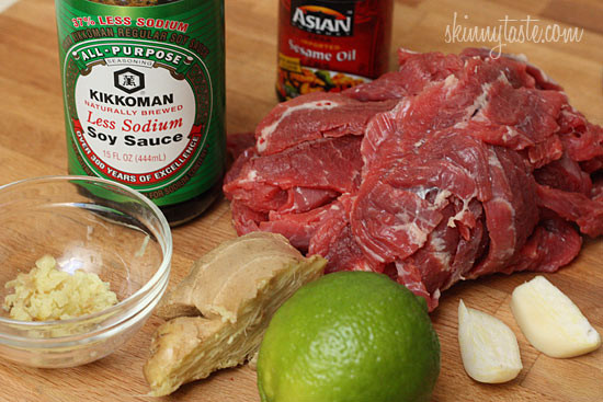Asian Flank Steak Skewer Recipe
