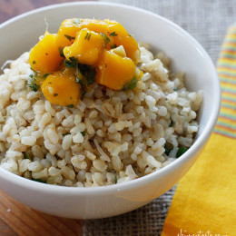 brown-coconut-rice-with-cilantro