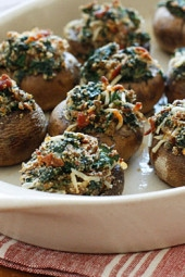 spinach-and-bacon-stuffed-mushrooms
