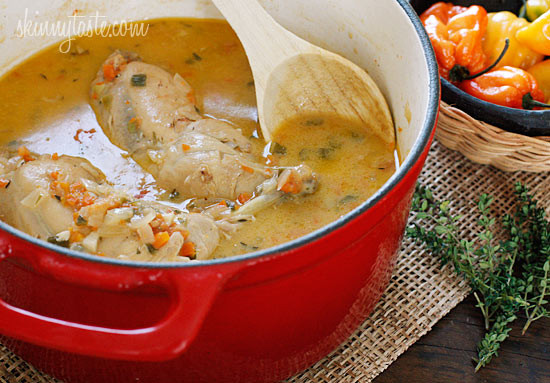 Jamaican brown stew chicken skinnytaste for Jamaican fish soup recipe