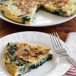 Light-Swiss-Chard-Frittata