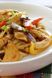 Skinny-Chicken-Cajun-Pasta