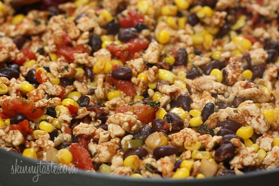 Skinny Loaded Nachos With Turkey, Beans And Cheese Recipes ...