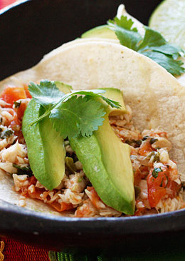 Flaky white fish, tomatoes, jalapeños, cilantro and lime topped with avocado. A fresh and flavorful way to spice up fish, tacos quick enough to make for a busy weeknight!
