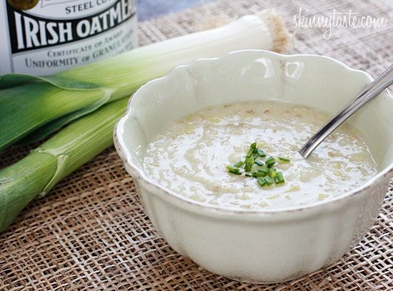When I first discovered Brotchán Roy, otherwise known as the King's Soup, I knew I would love it. It was said to have been the favorite dish of Ireland's celebrated sixth-century spiritual and literary icon, St. Columkille. I'm no stranger to oatmeal soup; growing up some of my favorite soups Mom prepared were made with oats. Even as an adult, I love the creamy texture of a hearty bowl of oatmeal soup – total comfort food!