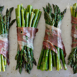 Nothing says Spring like the sweet taste of asparagus! Wrap it in prosciutto for a simple yet elegant side dish, perfect for Easter.