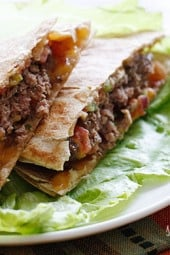 Buffalo-burger-quesadilla
