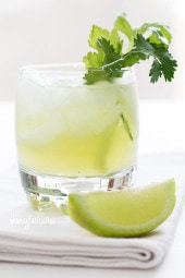 Celery-Cilantro-Cocktail
