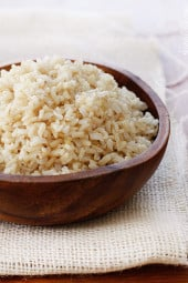 How to make perfect brown rice every time? Here is a foolproof method for making perfect brown rice that is never sticky.