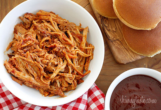 Slow Cooker Pulled Pork – made with my homemade Kansas City style BBQ sauce!