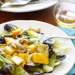 California-Grilled-Chicken-Avocado-and-Mango-Salad