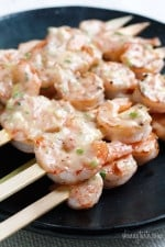 I've had it on my mind to turn my popular Banging Good Shrimp recipe into a summer dish you can make right on the grill. Now that the weather is warmer, we've been grilling almost every night. The excitement of being able to grill again and not dirty my kitchen is always great!