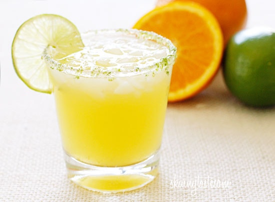 A lighter fresh take on a margarita! Fresh squeezed citrus juice and a splash of seltzer makes this fresh and lighter, with no added sugars! So go ahead, enjoy your margarita (or two) this Cinco de Mayo!!