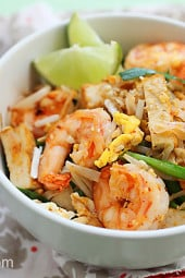 Shrimp-Pad-Thai-on-the-Lighter-Side