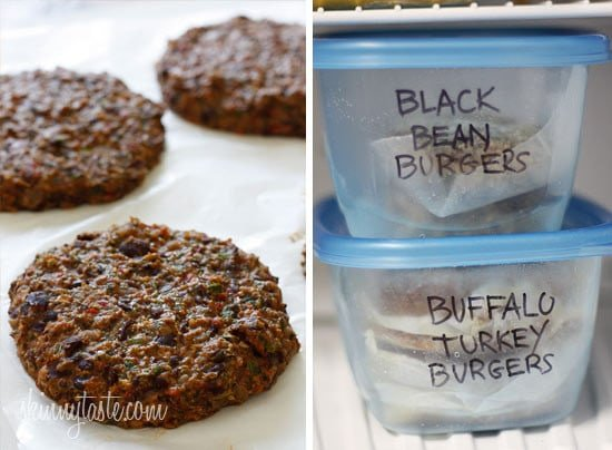 Spicy Black Bean Burgers with Chipotle Mayonnaise | Skinnytaste