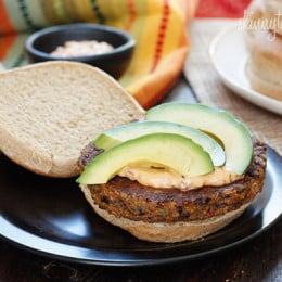 skinny-black-bean-burgers