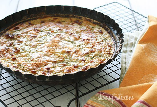 Crustless Summer Zucchini Pie
