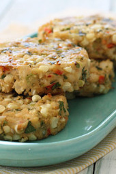 Baked-crab-and-corn-cakes