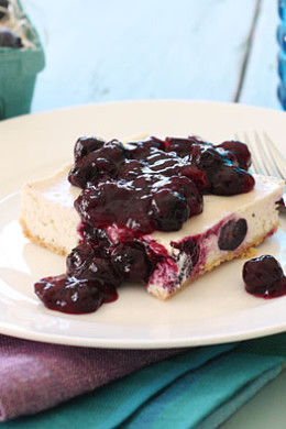 Raspberry-Blueberry Gazpacho with Fresh Mint