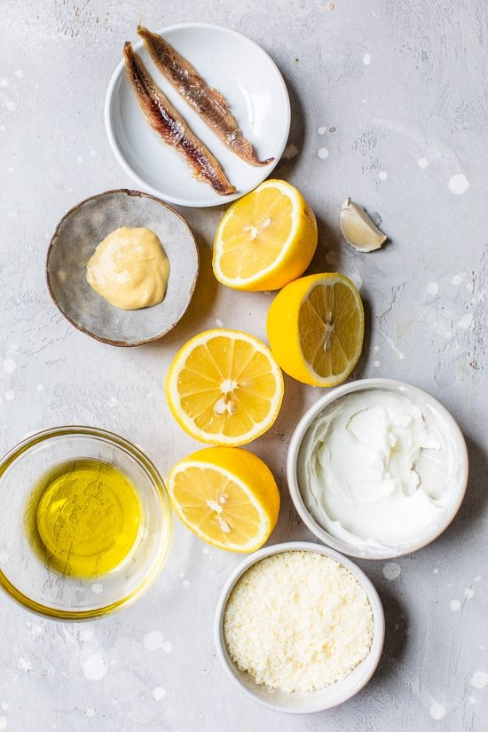 lemons and anchovies