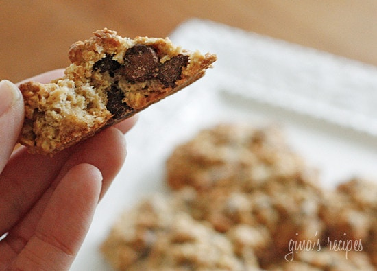 Oatmeal raisin walnut cookies skinnytaste for Low fat chocolate biscuits