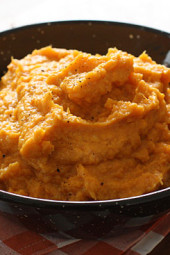 Garlic-Mashed-sweet-potatoes