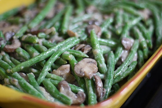 Lightened Up Green Bean Casserole With Shallot Crumb Topping ...
