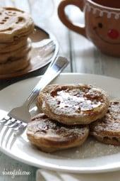 Eggnog-Pancakes