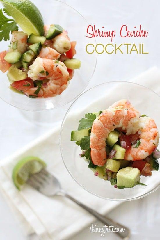 Shrimp Ceviche Cocktail | Skinnytaste