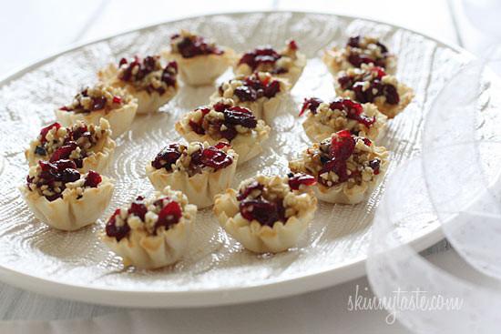 loaded turkey santa fe baked potato skins shrimp ceviche cocktail