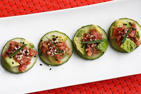 Spicy Crunchy Tuna Tartare