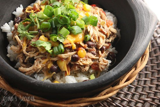 Slow Cooker Santa Fe Chicken Skinnytaste