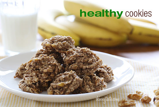 Healthy Banana Nut Cookies Skinnytaste