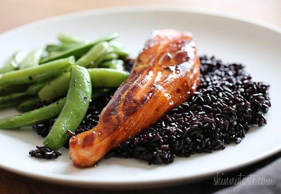 Honey-Teriyaki Salmon   Skinnytaste