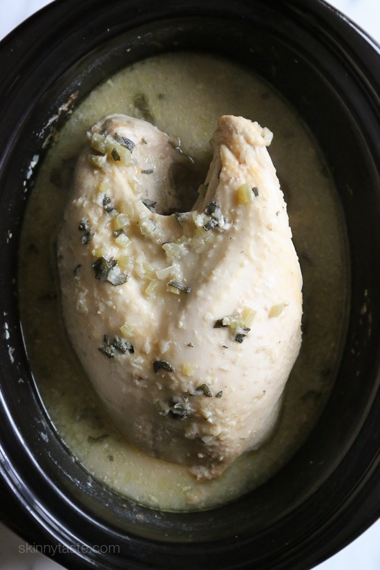 Slow Juicer Turkey : Slow Cooker Turkey Breast with Gravy Skinnytaste