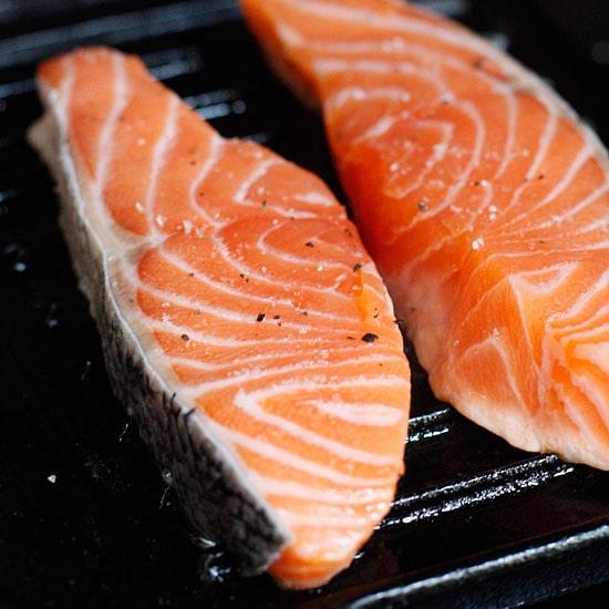 Grilled Garlic Dijon Herb Salmon   Skinnytaste