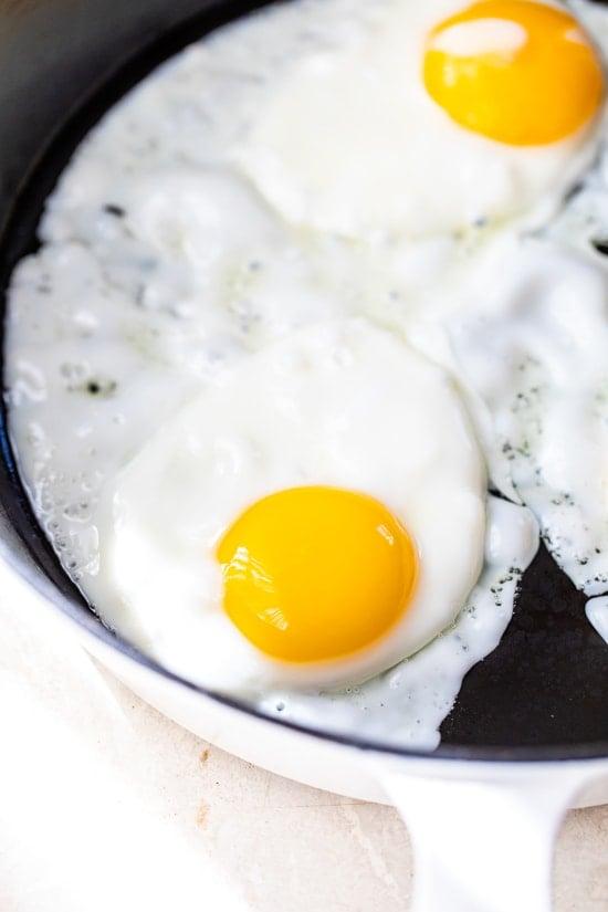 sunny side eggs