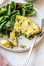 Asparagus and Swiss Cheese Frittata